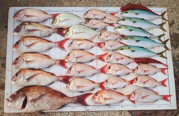 2020年秋の釣り大会の結果発表